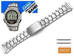 CASIO W-734D W-734 oryginalna bransoleta 18 mm