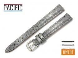 PACIFIC 12 mm pasek skórzany W123 szary