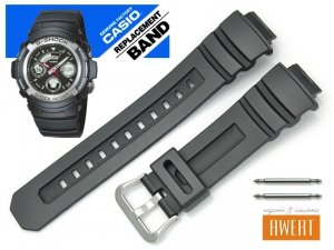 CASIO AW-590 AW-591 AWG-100 AWG-100R AWG-M101 AWG-M100 G-7700 G-7710 oryginalny pasek