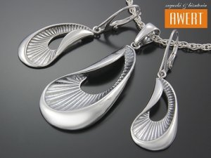 FOGILA srebrny komplet biżuterii