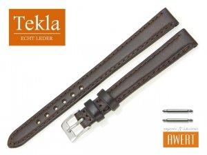 TEKLA 12 mm XL pasek skórzany PT68 brązowy