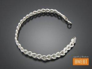 LUNA srebrna bransoletka 18,5 cm