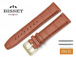 BISSET 22 mm XL pasek skórzany BS161
