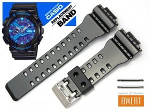 CASIO GA-110HC GA-120B GD-100HC GD-100SC GD-110 GA-100CS QW-3400KT oryginalny pasek 16 mm