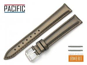 PACIFIC 16 mm pasek skórzany W114 brązowy perłowy