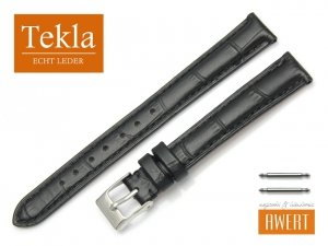 TEKLA 14 mm pasek skórzany PT25 czarny