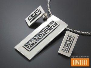 KITTE srebrny komplet biżuterii