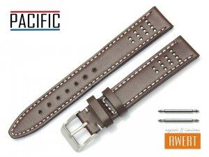 PACIFIC 18 mm pasek skórzany W28 brązowy
