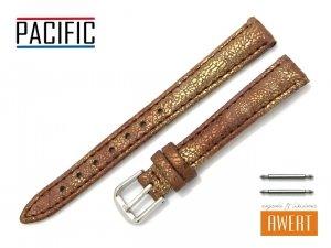 PACIFIC 12 mm pasek skórzany W123 brązowy
