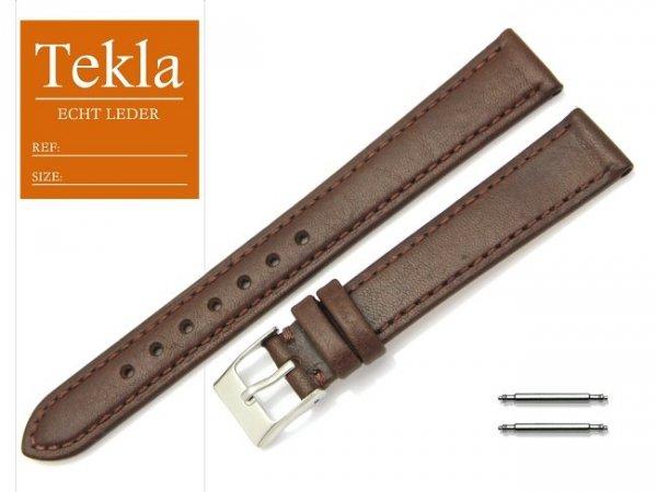 TEKLA 16 mm XL pasek skórzany PT69 brązowy