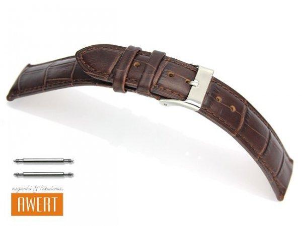 TEKLA 18 mm pasek skórzany PT41 brązowy