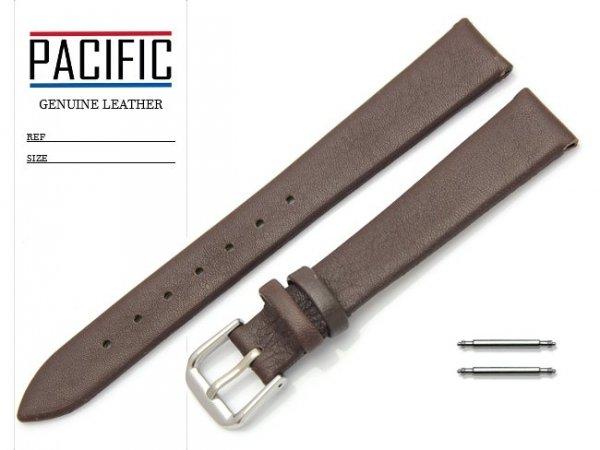 PACIFIC 14 mm pasek skórzany W86 brązowy