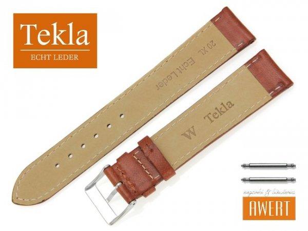 TEKLA 20 mm XL pasek skórzany PT68 brązowy
