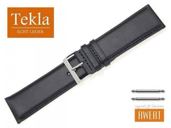 TEKLA 28 mm XL pasek skórzany PT68 czarny