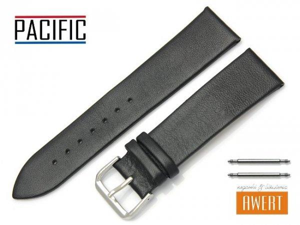 PACIFIC 22 mm pasek skórzany W86 czarny