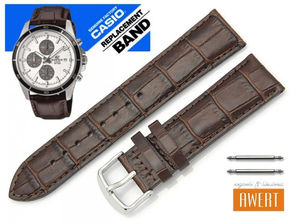 CASIO EFR-526L-7A oryginalny pasek 22 mm 10441948