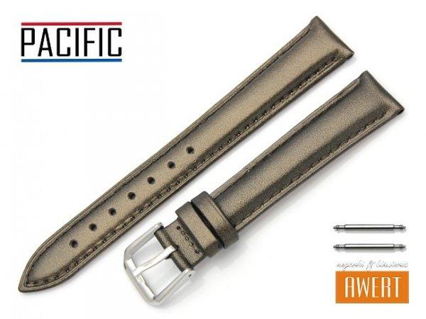 PACIFIC W114 pasek skórzany 16 mm brązowy