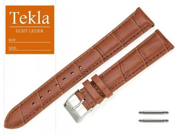 TEKLA 18 mm XL pasek skórzany PT25 brązowy