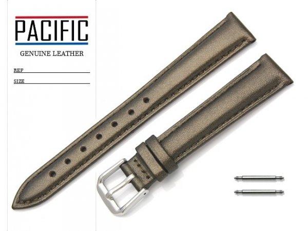 PACIFIC W114 pasek skórzany 14 mm brązowy