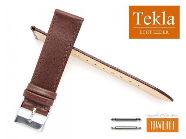 TEKLA 20 mm XL pasek skórzany PT69 brązowy PT69-5S-20XL