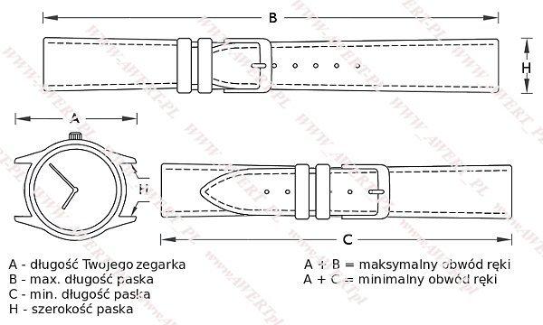 CASIO GA-110LY -1A oryginalny pasek 16 mm