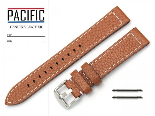 PACIFIC 18 mm pasek skórzany W45 brązowy