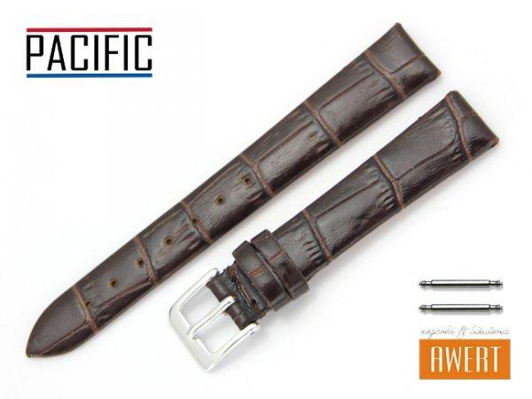 PACIFIC 14 mm pasek skórzany W09 brązowy