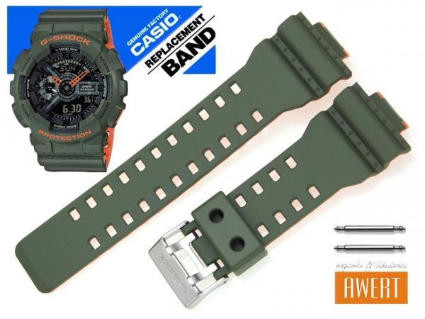 CASIO GA-110LN-3A oryginalny pasek 16 mm 10540145