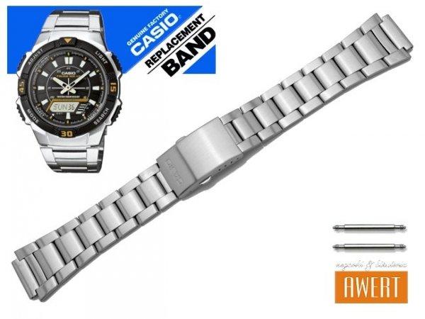 CASIO AQ-S800WD-1EV AQ-S800WD-7EV oryginalna bransoleta 18 mm 10395884