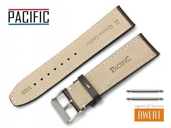 Pasek PACIFIC 24 mm W28 brązowy