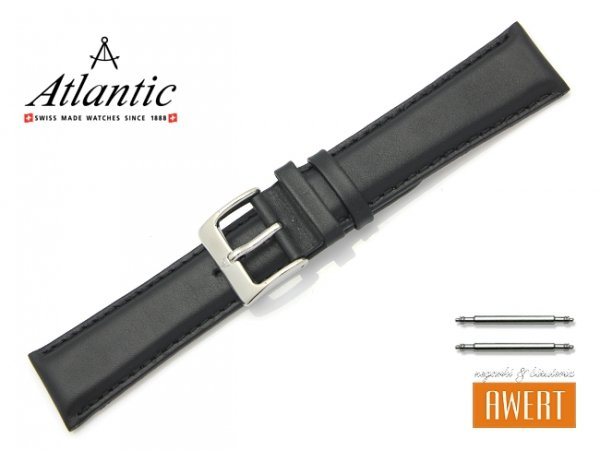 ATLANTIC 23 mm pasek skórzany L190.01.23S