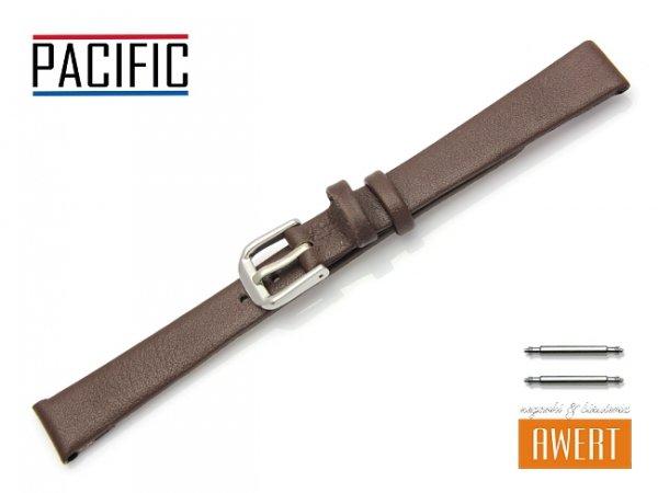 PACIFIC 12 mm pasek skórzany W86 brązowy