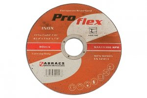 Abracs 115mm x 1.0mm Extra Thin Discs Tin 10