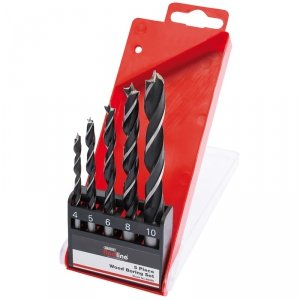 5pc wood bore drill set
