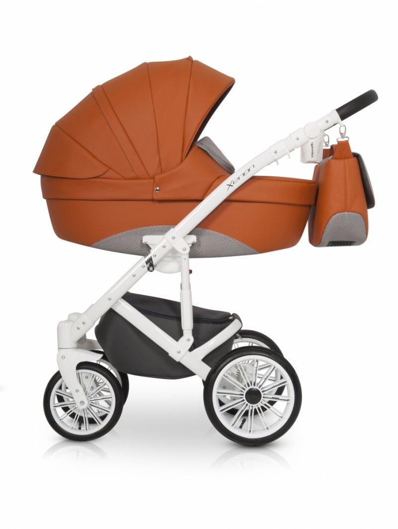 Wózek 3w1  Expander Xenon Scarlet