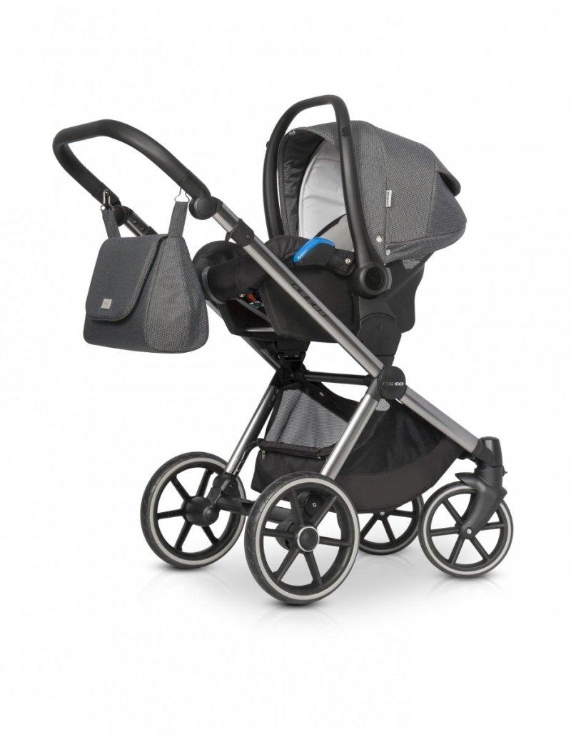 Wózek dziecięcy Riko Qubus Titanium wielofunkcyjny  2w1
