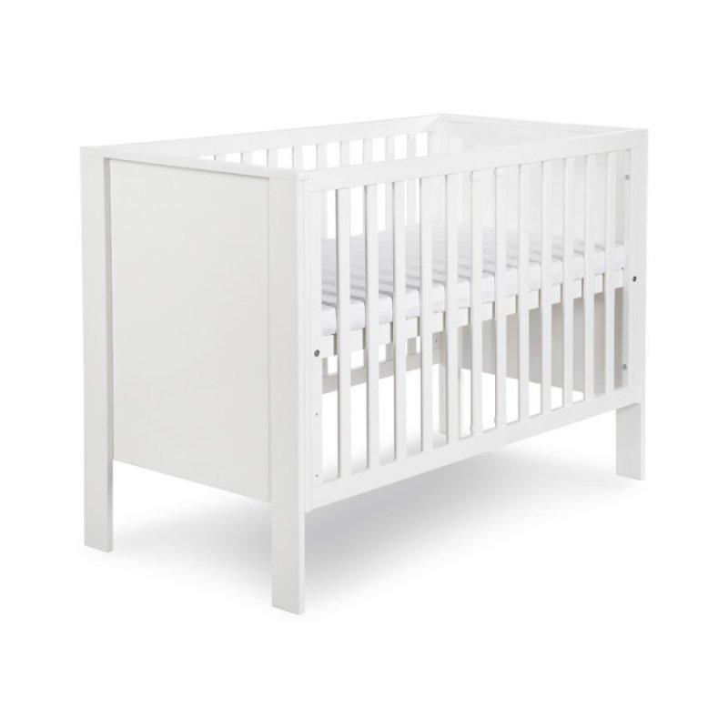 łóżeczko białe firmy Klupś