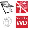 Dachfenster Roto R6 K200 (R66E K) Schwingfenster aus Kunststoff acusticLine NE Plus mit Wärmedämmblock