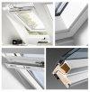 VELUX Dachfenster GGU 0070 Schwingfenster aus Kunststoff Standard - Verglasung _ _70 v