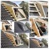 VELUX EBW 2022BK 2x2 MK06 PK06 SK06 Kombi-Eindeckrahmen für gaubenähnliche Lösungen Aluminium VELUX Lichtlösung PANORAMA  Basiselement GGL/GPL ESG VSG 0070 THERMO-Variante  Holz