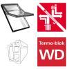 Dachfenster Roto Designo R69G K blueTec Schwingfenster aus Kunststoff  mit Wärmedämmblock