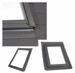 Eindeckrahmen Rooflite SFX  Schiefer Stehfalz Für flache Eindeckmaterialien Für Schieferplatten und Flachdächer 0-16 mm (2x8mm) 0-16 MM (2X8MM)