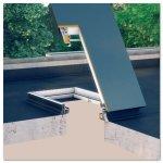 Flachdachausstieg Fakro DRL Uw=0,67 Dachluke - Wärmedämm Schachtfenster - Fenster mit einer Kuppe - Raus aufs Flachdach mit dem neuen Flachdach-Ausstieg DRL