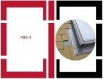 Eindeckrahmen Fakro KSV-1 Modul für die Kombination übereinander für flache Eindeckmaterialien