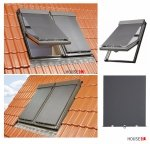 Netzmarkisen Fakro AMZ NewLine Markise Manuell Netzmarkisen Fakro AMZ I gruppe: 89 90 farbe, transparent Anti-Hitze-Markise für FAKRO Dachfenster