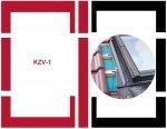 Eindeckrahmen Fakro KZV-1-P Modul für die Kombination übereinander für hochprofilierte Eindeckmaterialien