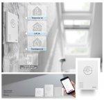 Zusätzlicher VELUX ACTIVE Raumklima-Sensor KLA 300 - VELUX INTEGRA® Dachfenstern, Flachdach-Fenstern, Sonnenschutzprodukten und Rollläden