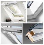 VELUX Dachfenster GGU 0070 Schwingfenster aus Kunststoff Standard - Verglasung _ _70