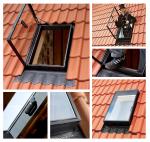 Ausstiegsfenster VELUX GVT 0000Z 54X83 für ungeheizte Räume
