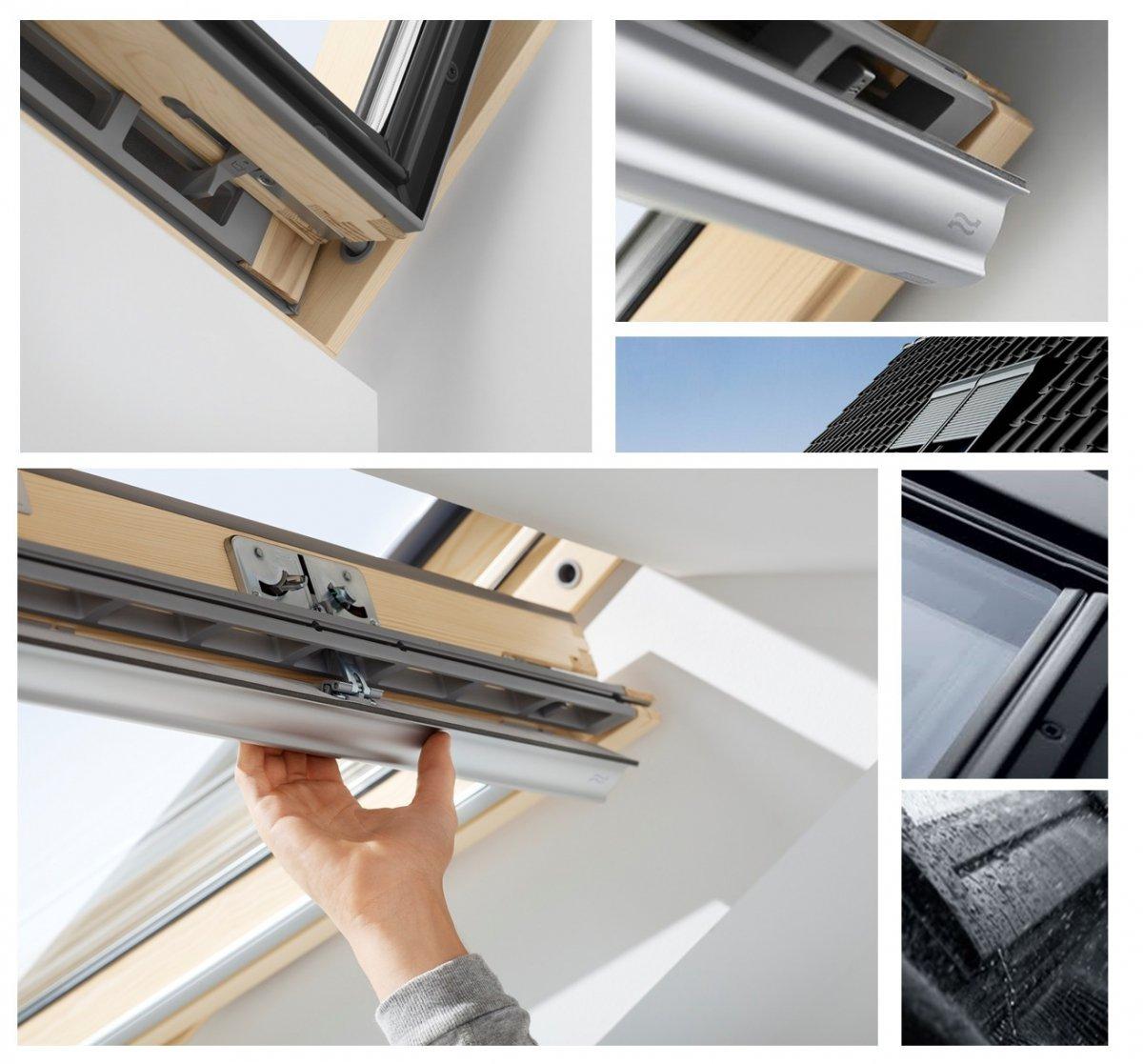 velux dachfenster gzl 1051 aus holz schwingfenster uw 1 3 thermo 2 fach veglasung holz klar. Black Bedroom Furniture Sets. Home Design Ideas